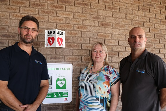 External defibrillators installed at Shire facilities Mundaring WA