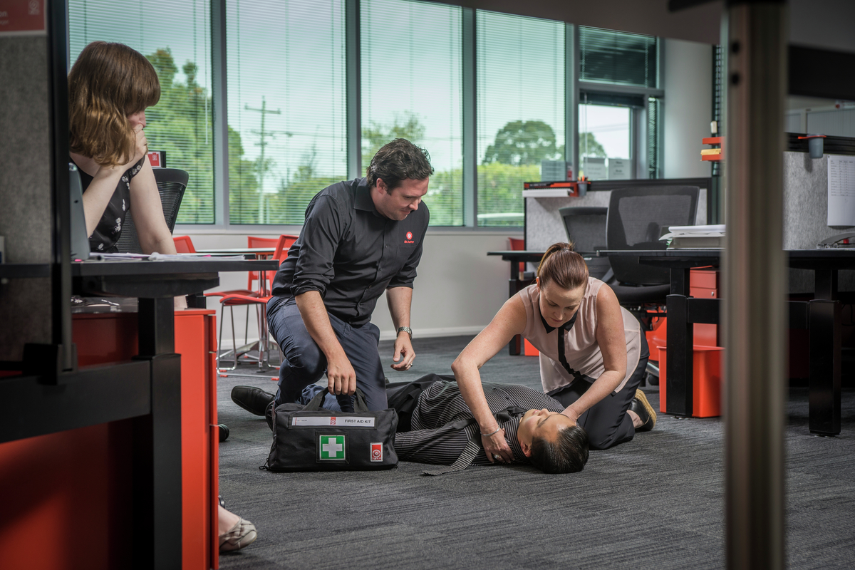 First Aid in the work place