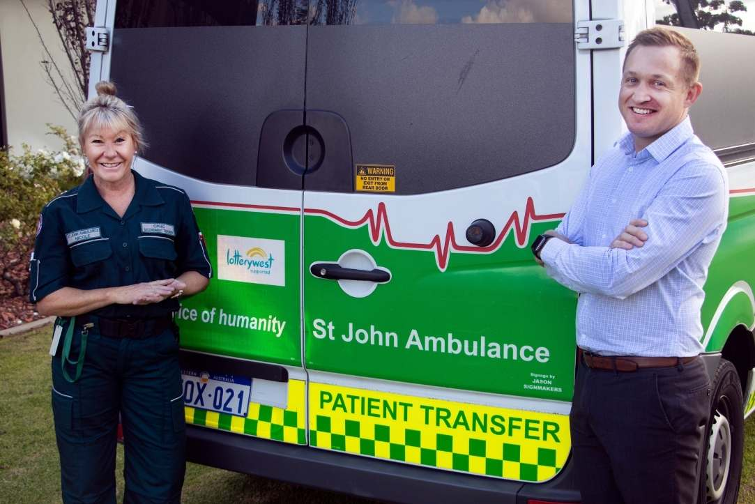 ST JOHN WA AND DEMENTIA TRAINING AUSTRALIA BAND TOGETHER TO ENHANCE PATIENT EXPERIENCE