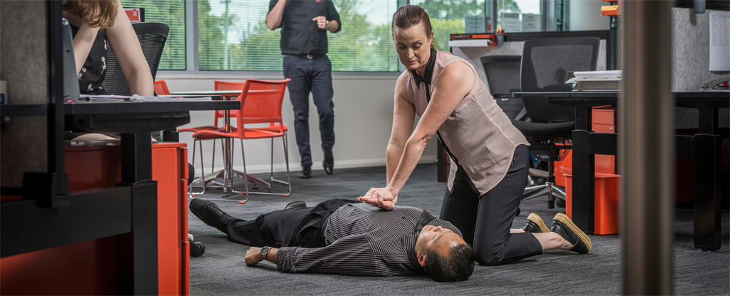 cpr in office space workplace first aid