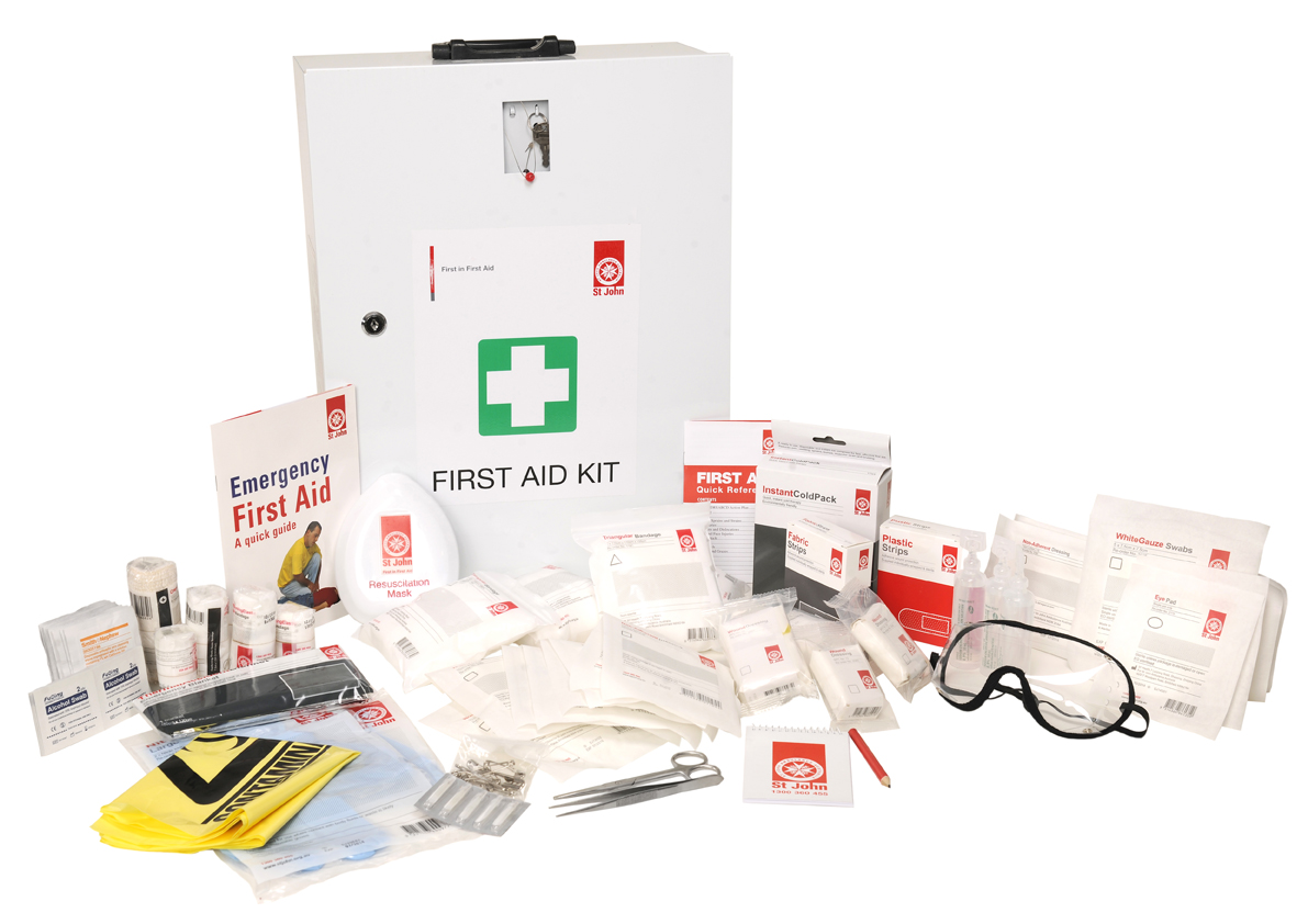 First Aid Kit Servicing - First Aid Kit Re-Stocking - St John