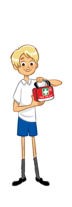 First Aid Club Student